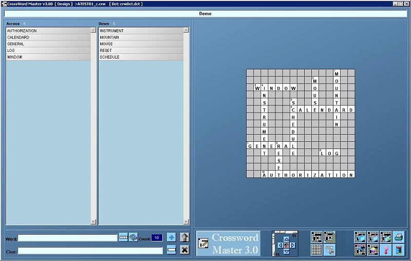 Full CrossWord Master screenshot