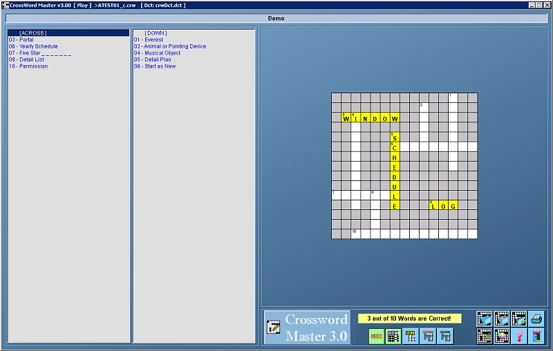 CrossWord Master screenshot